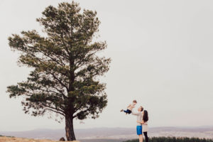 Fun family photos with Tracy Lee Photography at the Canberra Arboretum