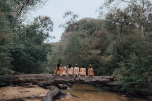 Treking in Wollemi National Park with Three Feathers SOUL SISTER CAMP OUTS