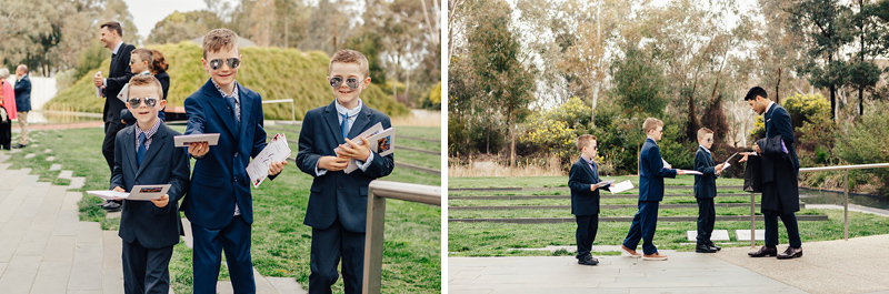 Canberra marriage equality wedding photographer. Same sex wedding at the National Art Gallery of Australia.